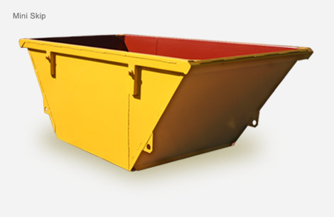 skip bins, mini skips, rubbish removal, building site cleanup,