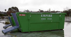2, 3, 4, 6, 9, 10, 12, 15 & 26 Cubic Metre Bin Sizes