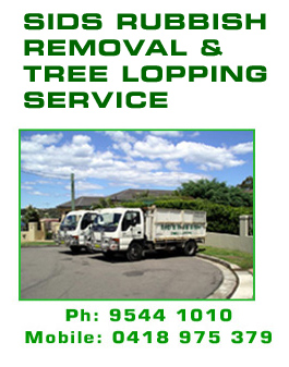 rubbish removal, tree lopping & removal, Sutherland Shire, waterfront properties