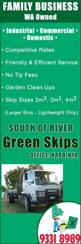 skip bin hire, mini skips, Perth South, Kardinya